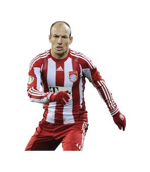 Arjen Robben , Bayern munich Bundesliga