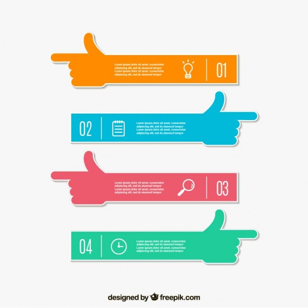 Arm banners template
