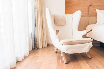 Armchair near a window