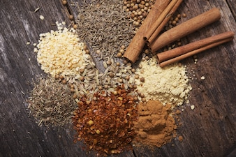 Aromatic Dry Spices