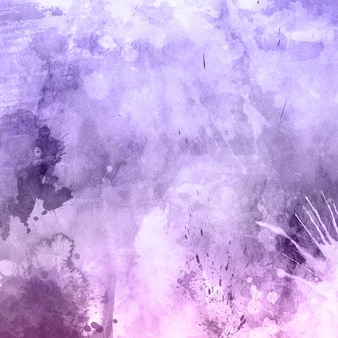 Artistic purple watercolor texture
