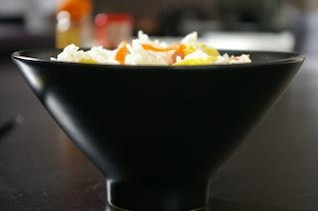Asian rice cantoneese, eggs