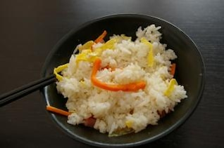 Asian rice cantoneese