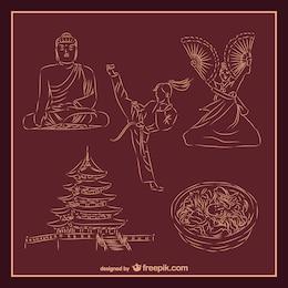 Asiatic culture and martial arts