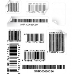 authentic barcode vectors