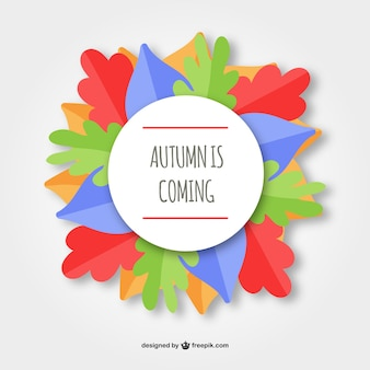 Autumn is coming background
