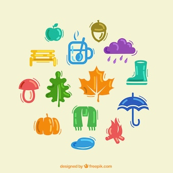 Autumnal icons