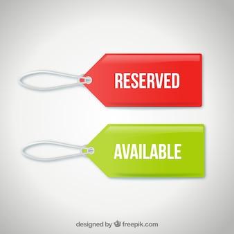 Availability tags