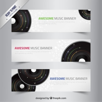 Awesome music banners