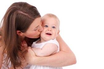 Baby cute caucasian cheek care childhood child