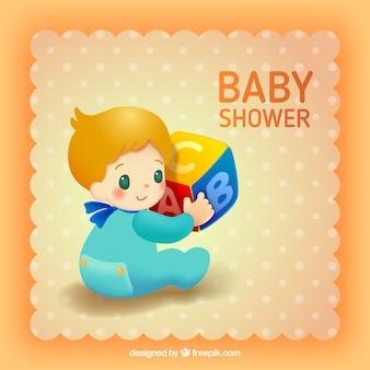 Baby shower label