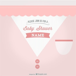 Baby shower party design
