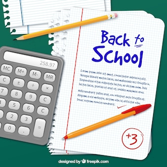 Back to school template