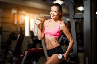 Background adult athletic aerobics athlete