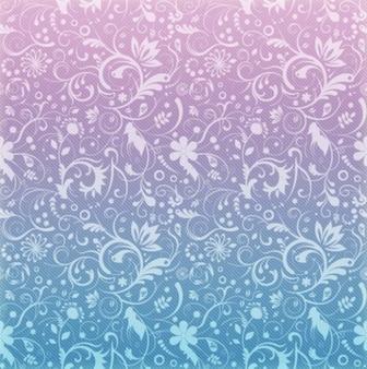 background of breezy floral pattern