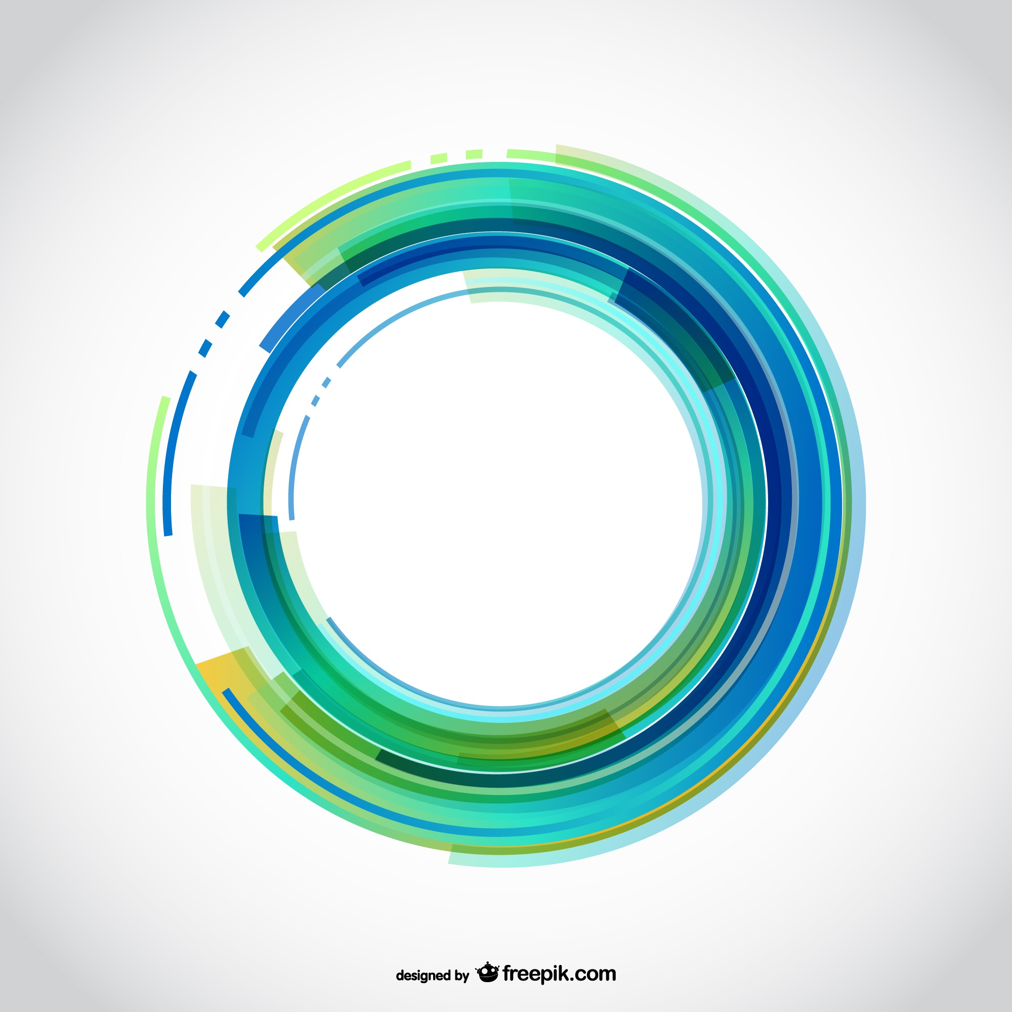 Background with abstract circle