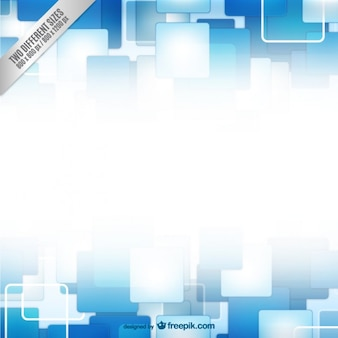Background with blue and white squares