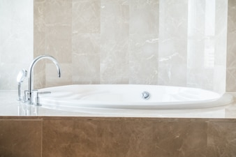 Background with fantastic bathtub