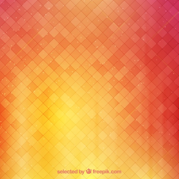 Background with squares in warm tones