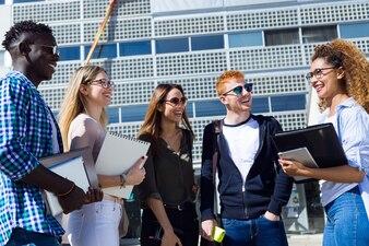 Backkground school group university technology millennial