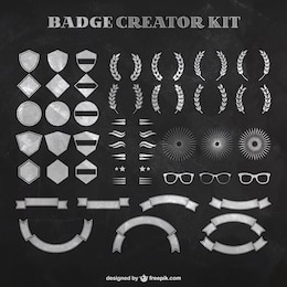 Badge creator kit