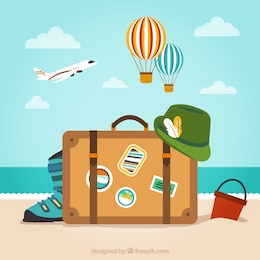 Baggage for vacation