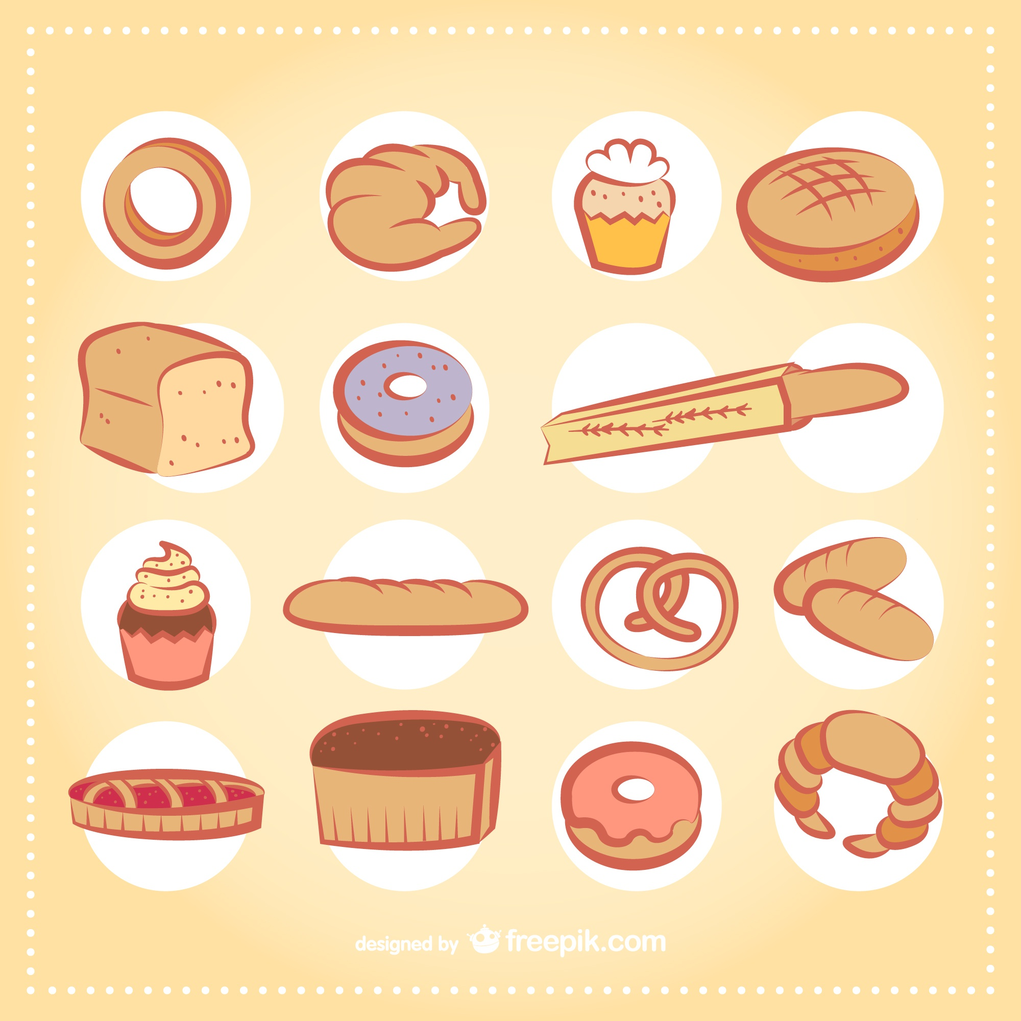 Bakery products pack