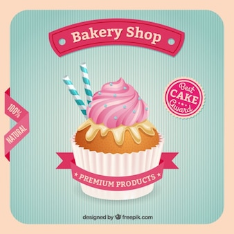 Bakery shop poster