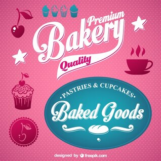 Bakery vector graphics