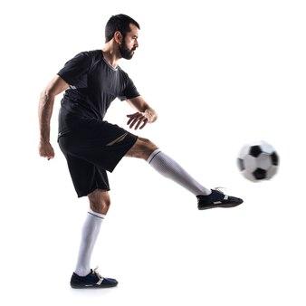 Ball guy soccer man playing