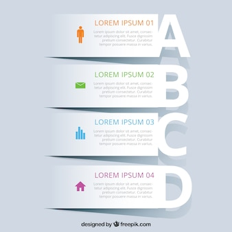 Banners infographic template