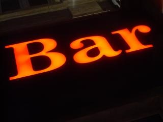 bar sign  lights