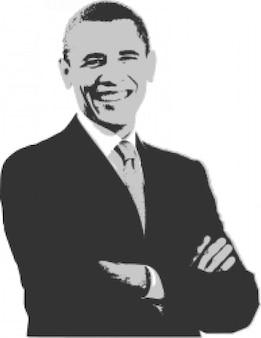 Barack Obama Print Warhol Stylee