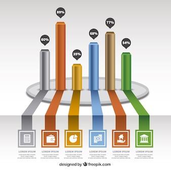 Bars graph
