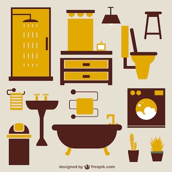 Bathroom icons free download