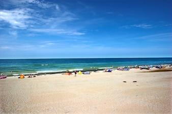 Beach's day
