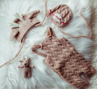 美しいかわいい赤ちゃんの布