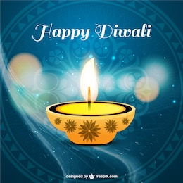 beautiful diwali cards    vector