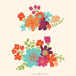 Beautiful free floral graphics