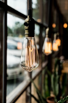Beautiful light lamp decoration