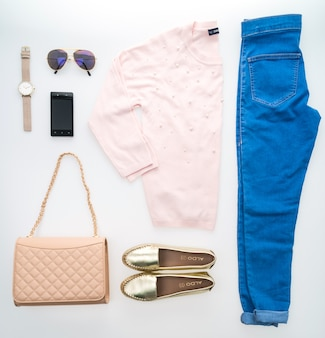 Beautiful luxury women clothes set