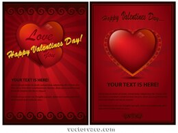 Beautiful Maroon Valentines Day Card