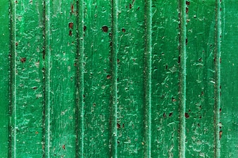 Beautiful Old Antique Dark Wooden Texture Surface Background Backdrop. Old Turquoise Stripes Door. Copy Space.