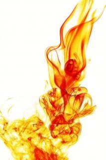 beautiful smoke  aromatherapy