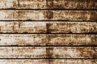 Beautiful Texture of Grunge Rusty Stripes Wall. Horizontal. Pattern. Rusty Background.