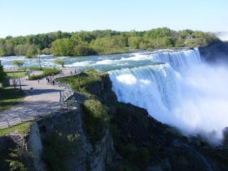 Beauty of Niagara Falls, landscape, cool