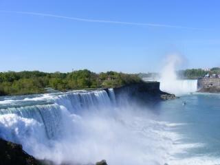 Beauty of Niagara Falls, nature, summer