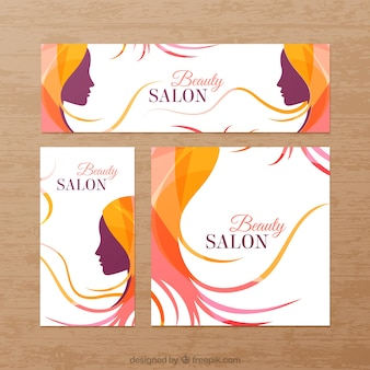 Beauty salon banners