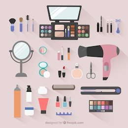Beauty salon objects