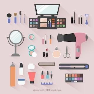 Beauty salon objects